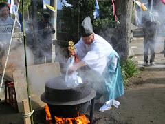 湯花神楽祭