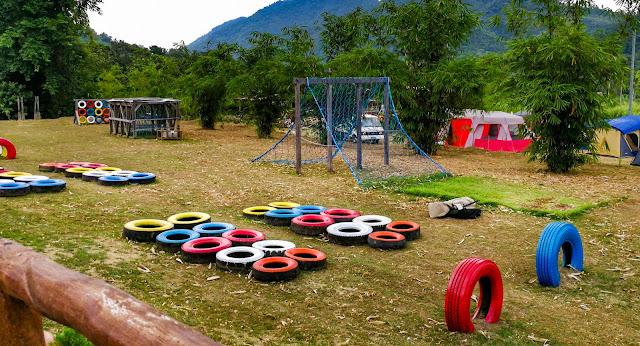 balay ni tatay farm resort babatngon leyte, playground