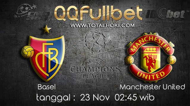 PREDIKSIBOLA - PREDIKSI TARUHAN BOLA BASEL VS MANCHESTER UNITED 23 NOVEMBER 2017 (UEFA CHAMPIONS LEAGUE)