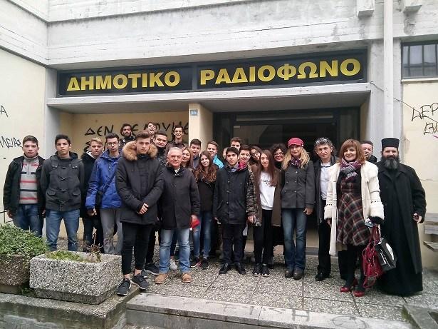 Γιάννενα: Βυζαντινά κάλαντα από το Εκκλησιαστικό Λύκειο Βελλάς στο Δημοτικό Ραδιόφωνο