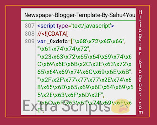 Extra Scripts Ka Example Free Template or Theme Me