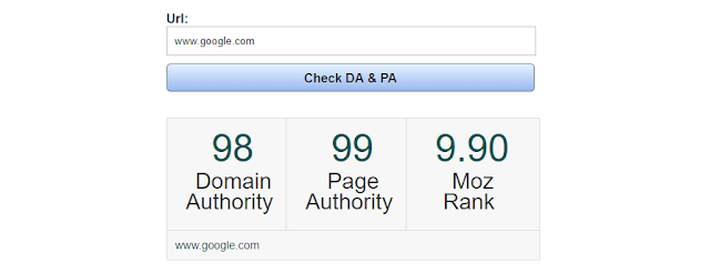 Cara Cek Domain Authority