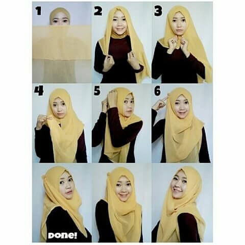 27 Tutorial Hijab Simple Yang Modern Dan Terbaru 2017 Tampil Cantik Dengan Hijab