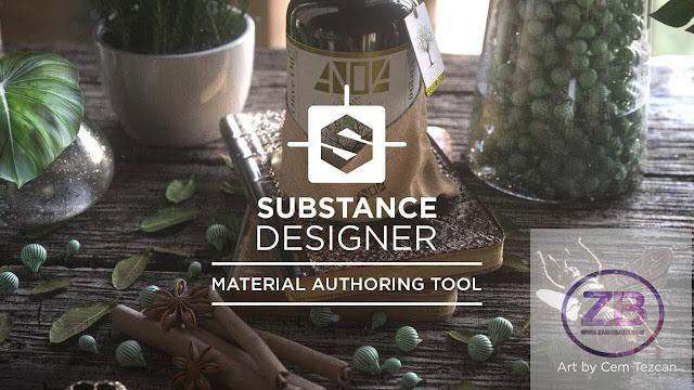 Allegorithmic Substance Designer 2017 Free Download   www.zainsbaba.com