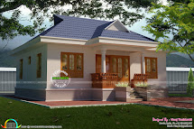 Cute Little Kerala Traditional Home - Design