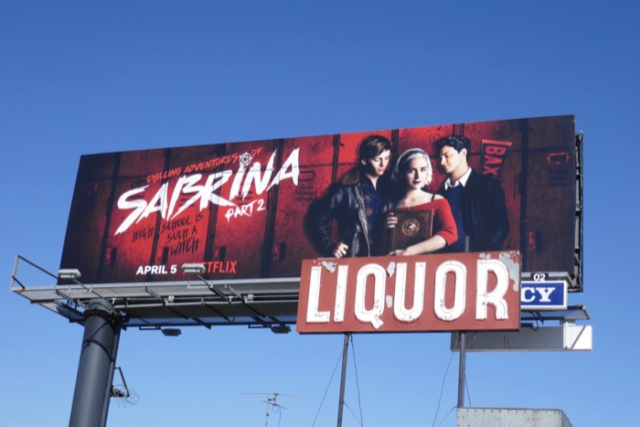 Chilling Adventures of Sabrina Part 2 billboard