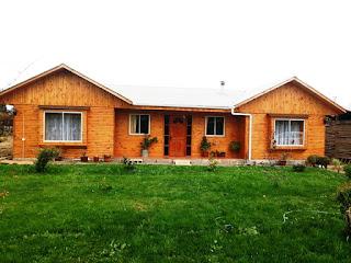viviendas revestidas en madera paine