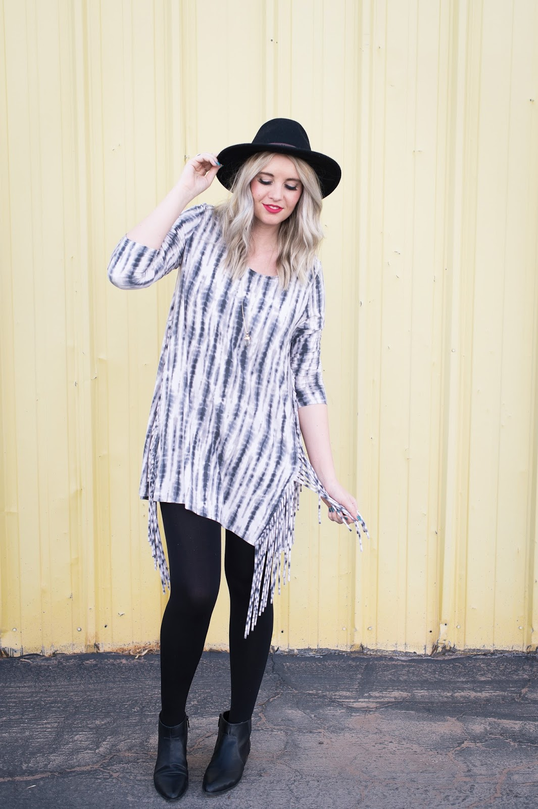 Modest, Fashion Blogger, Tie Dye, Bohme