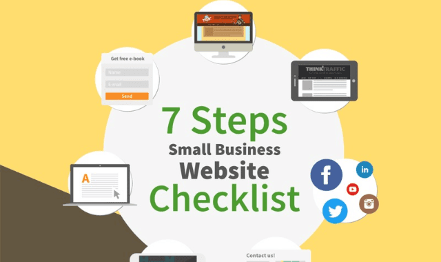 7 Step Small Business Website Checklist