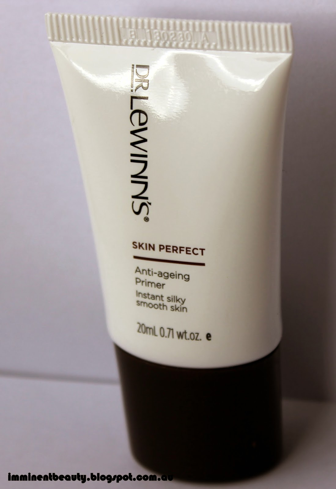 Imminent Beauty: Review: Dr Lewinns Skin Perfect Anti-Aging Primer