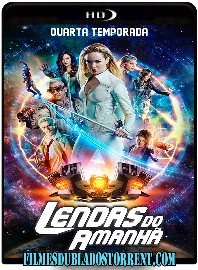 DCs Legends of Tomorrow (2018) Torrent – BluRay 720p | 1080p Dublado / Dual Áudio 5.1 Download