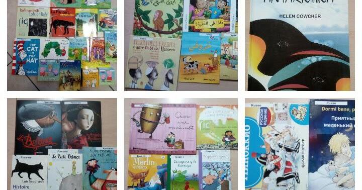 A Librotropoliss il bookcrossing diventa multilingue: i libri che uniscono!