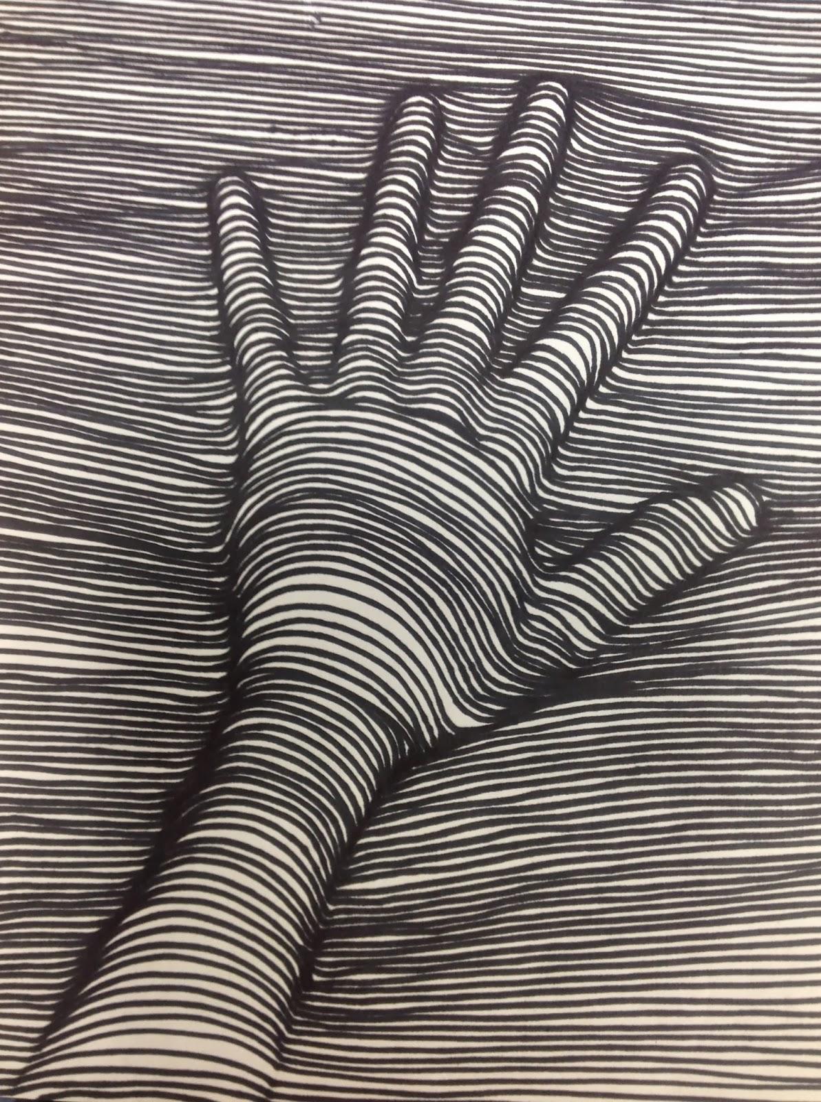 Miss Arty Pants: Contour Line Drawings