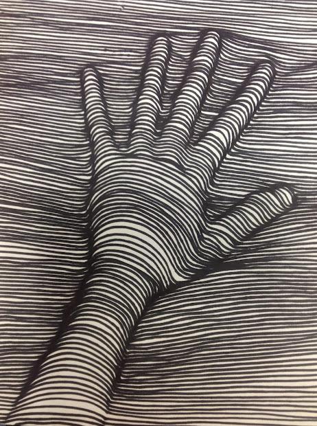 Arty Pants Contour Line Drawings