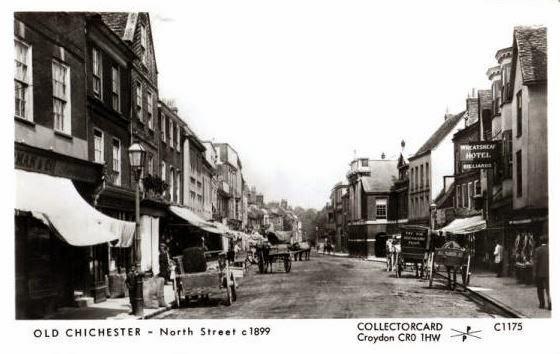 North Street Chichester 1899