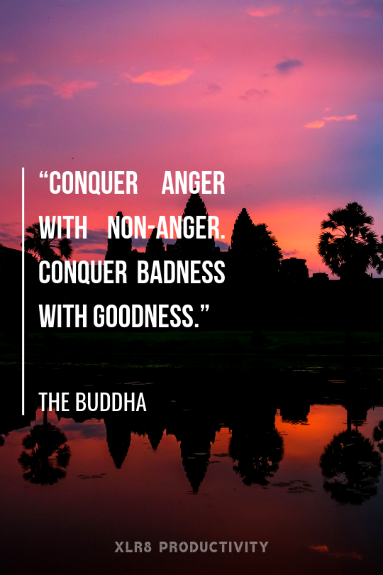 Quotes from Buddha, Lessons from Buddha, xlr8 productivity