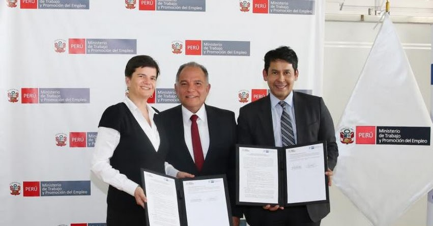 Jóvenes de Lima Metropolitana recibirán capacitación laboral con enfoque dual - www.trabajo.gob.pe