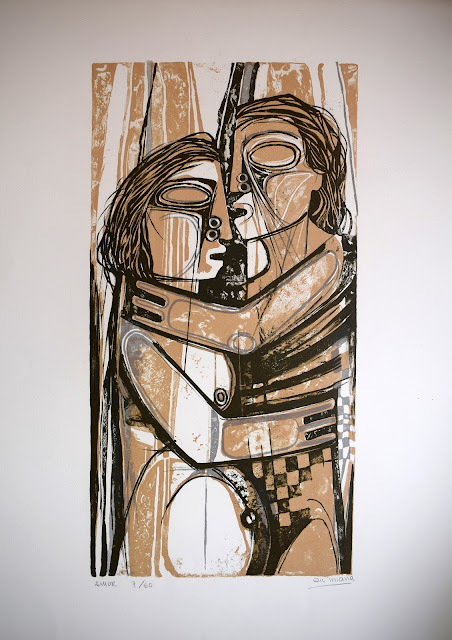 Gil Imaná pintura boliviana tradicional amantes