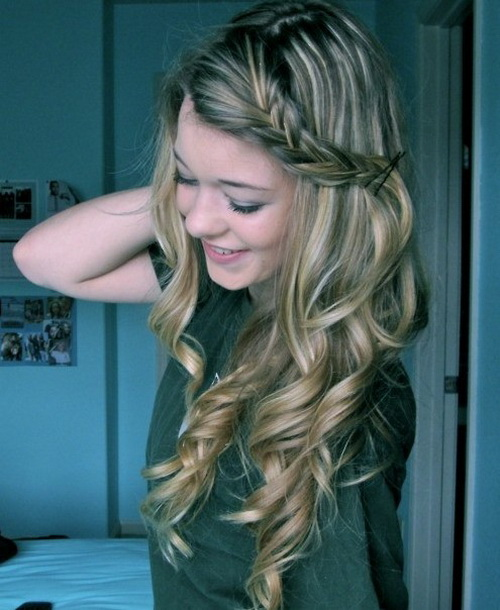 Cute Hairstyles Curly Hair 2017