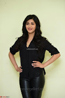 Shruti Haasan Looks Stunning trendy cool in Black relaxed Shirt and Tight Leather Pants ~ .com Exclusive Pics 054.jpg