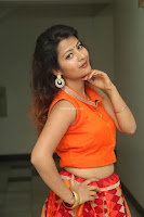Shubhangi Bant in Orange Lehenga Choli Stunning Beauty ~  Exclusive Celebrities Galleries 037.JPG
