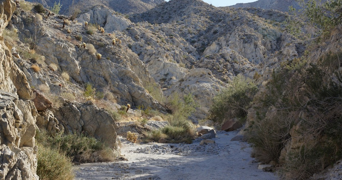 Borrego Springs Hiking Trails Map