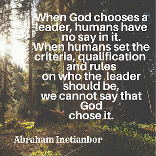 qualification of an elder