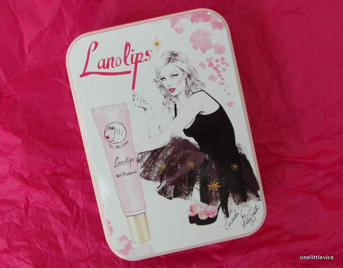 One Little Vice Beauty Blog: Lanolips Artists Tin