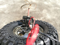 HBX 12889 Thruster Truck With Spare wheel