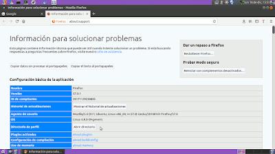 Firefox Abrir directorio