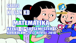 Analisis Pemetaan KD Matematika Kelas 6 SD Semester 1 Kurikulum 2013