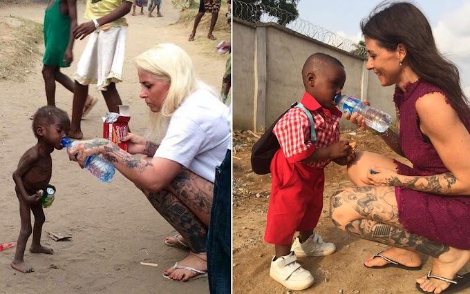 MUNDO: Um ano depois, menino abandonado por 'bruxaria' tem foto recriada na Nigéria