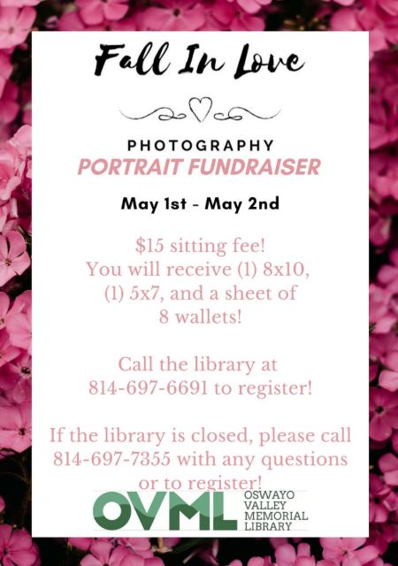 5-1/2 Oswayo Library Photography Fundraiser