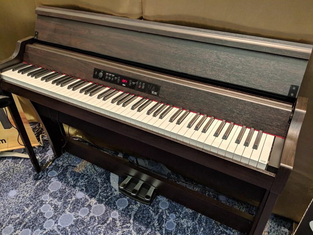 az piano reviews review korg g1 air digital piano amazing. Black Bedroom Furniture Sets. Home Design Ideas