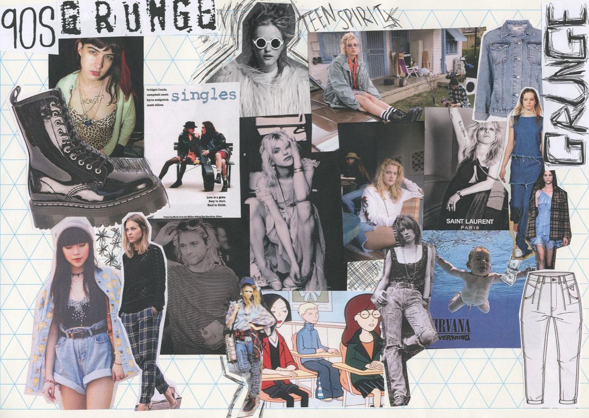 Love Of Fabulous 90s Mood Board