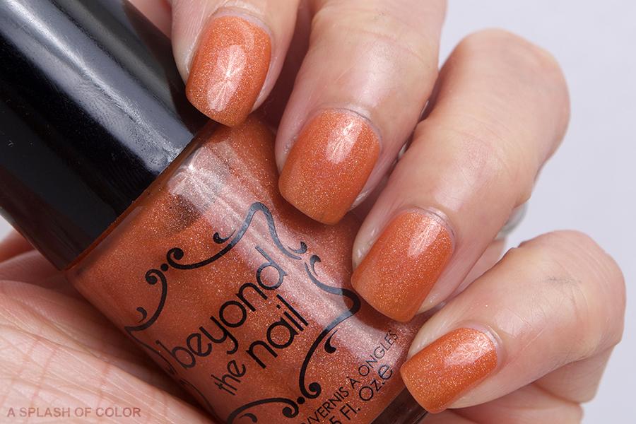 Beyond the Nail Pumpkin Spice
