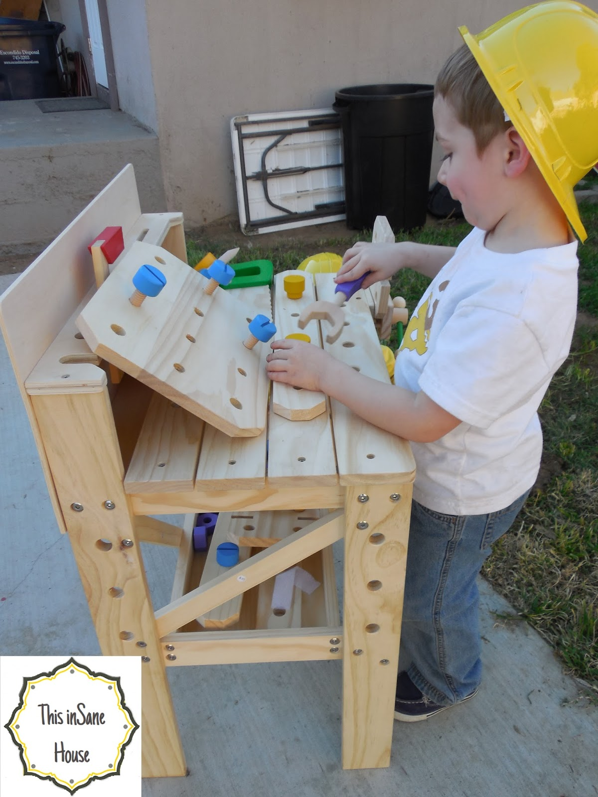 Kids workbench on pinterest kids workbench workbenches and old