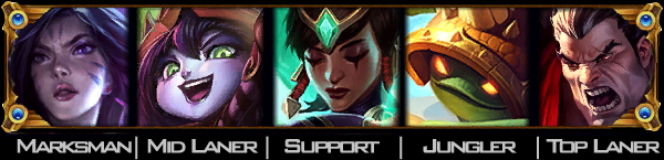 LoL TopTeamComps - Strong/Fun Team Champion Picks for 5 Man
