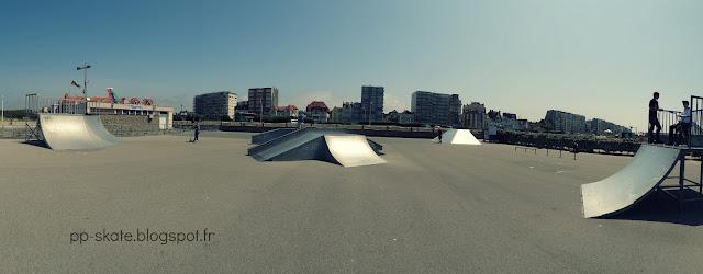 Skatepark du Touquet Panoramique