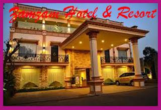 TARIF ZAMZAM HOTEL & RESORT BATU MALANG