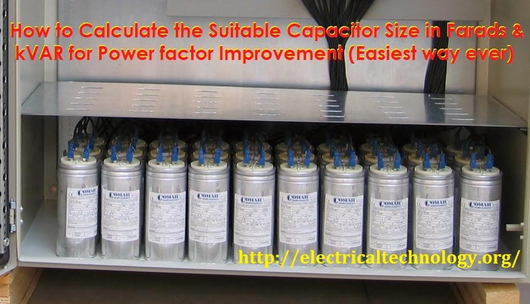 single phase motor wiring diagrams hopkins 7 blade trailer diagram how to convert capacitor farads into kvar & vice versa