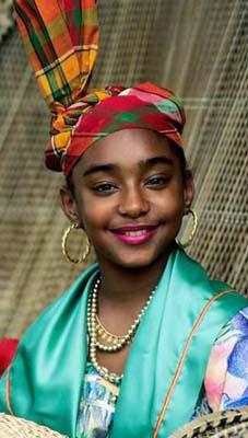 Guadeloupe girl