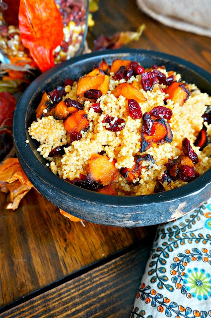harvest quinoa salad with pumpkin vinaigrette recipe