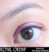 Jesse's Girl Cosmetics - Fluid Shadows - Royal Orchid | Kat Stays Polished