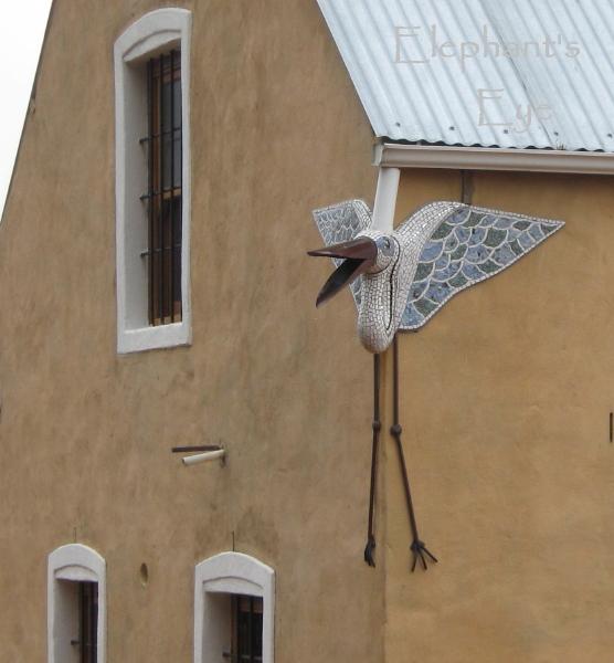 Gargoyle on Artemis Barn 2008