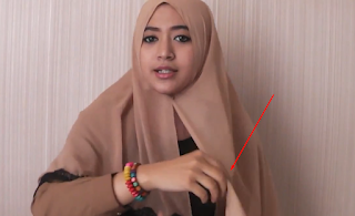 Tutorial Hijab Segi Empat Paris Renda