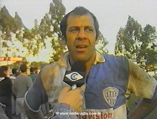 Marcelo Mentesana, capitán de Gimnasia y Tiro Campeón Regional del NOA 1999