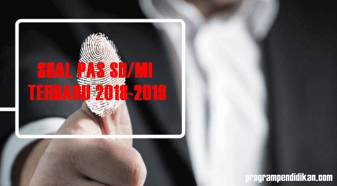 Soal PAS SD 2018