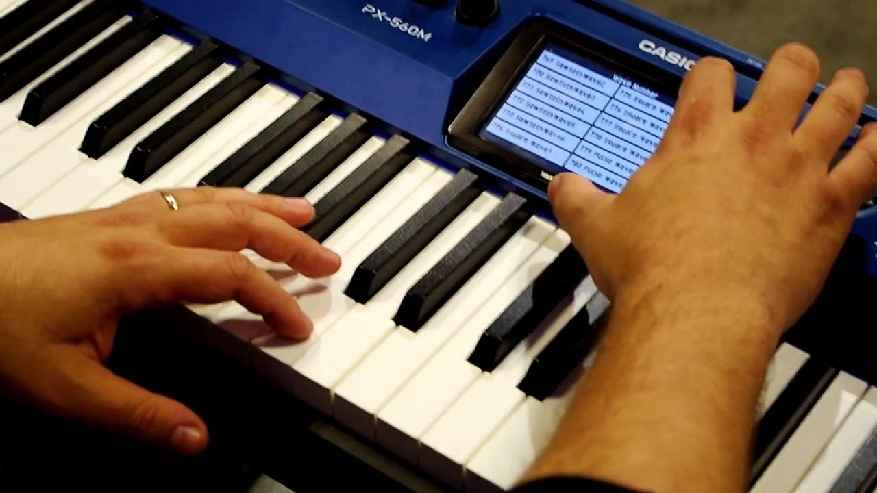 Bán đàn piano điện Casio PX-560M Giá Rẻ ở Tphcm