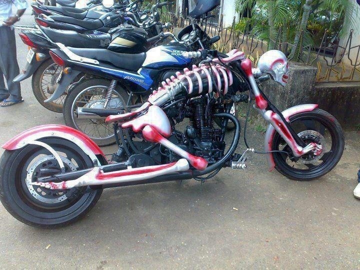 garip temalı motorsiklet resimleri